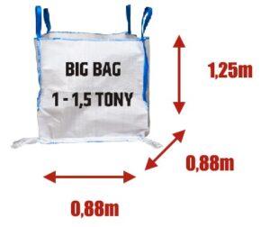 Big Bag Warszawa 1m3 do 1,5 tony